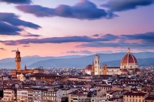 Panorama von Florenz vom Piazzale Michelangelo